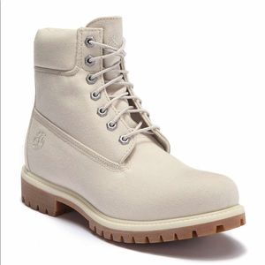 Timberland canvas boot